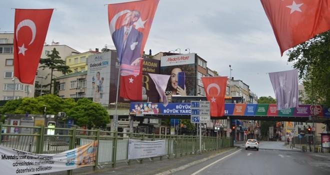 Beşiktaş bayramın ikinci gününde de boş