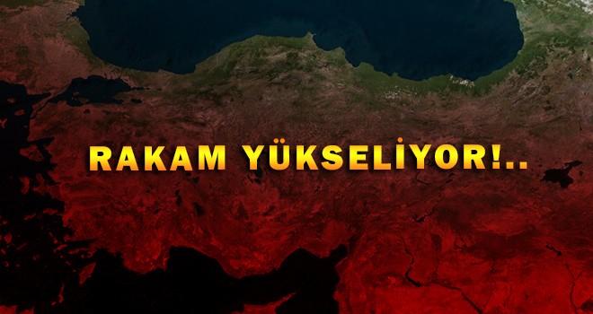 Türkiye'de rakamlar yükseliyor! 947 vaka ve 21 can kaybı