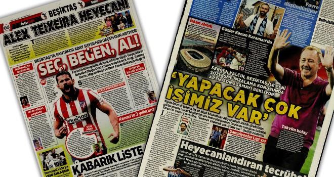 Beşiktaş manşetleri