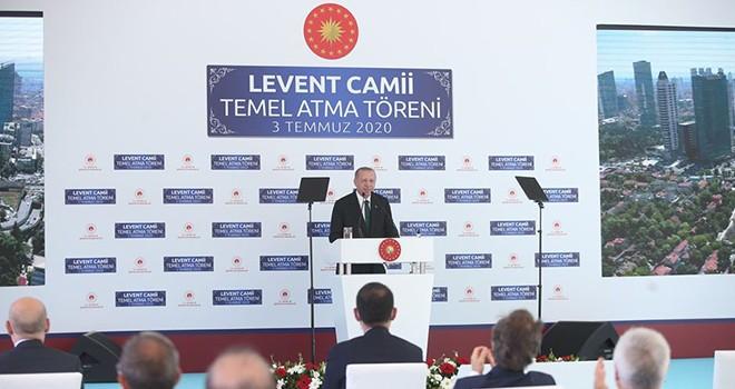 Levent Camisi'nin temeli Erdoğan tarafından atıldı