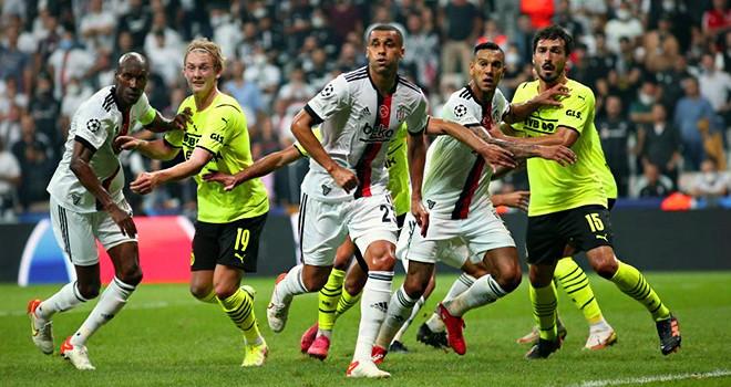 Beşiktaş-Borussia Dortmund: 1-2