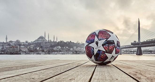 UEFA Şampiyonlar Ligi 2020 maç topu İstanbul'un ruhunu taşıyor
