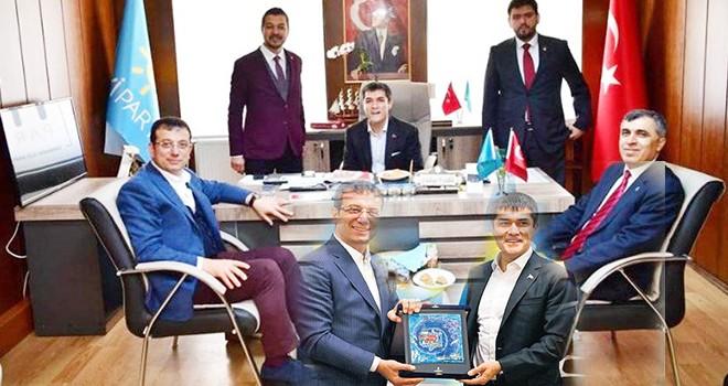 Başkan İmamoğlu'ndan parti ziyaretleri