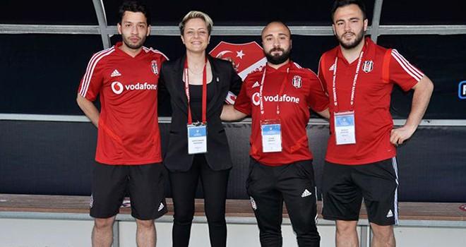 Bahar Özgüvenç: Beşiktaşımıza bir kupa daha kazandırdık