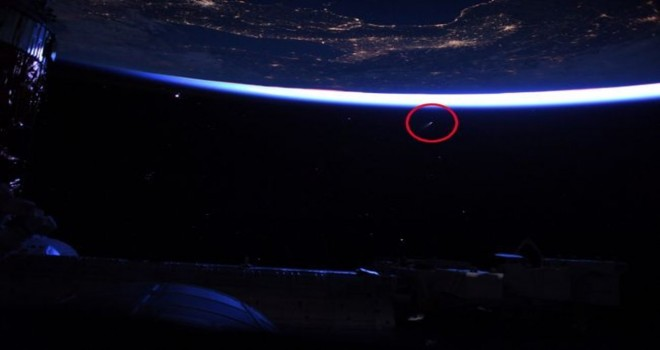 Astronotlar kuyruklu yıldızı görüntüledi