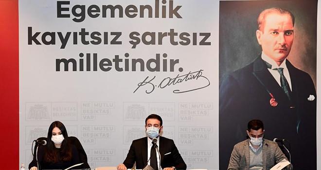 Beşiktaş'ta işgaliye bedeli pandemi süresince alınmayacak