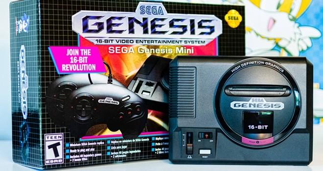 """Retro hayranlarının yeni gözdesi """"Sega Genesis Mini"""""""