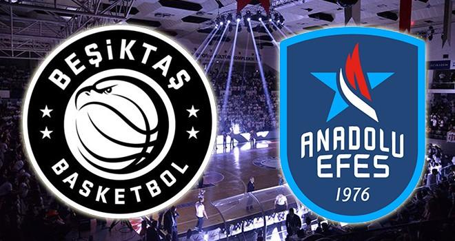 Beşiktaş Icrypex - Anadolu Efes karşı karşıya