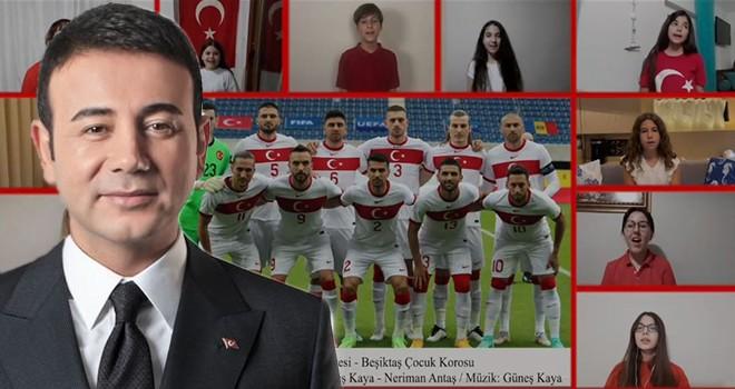 Beşiktaş Çocuk Korosu'ndan A Milli Takımı için Euro 2020 Marşı