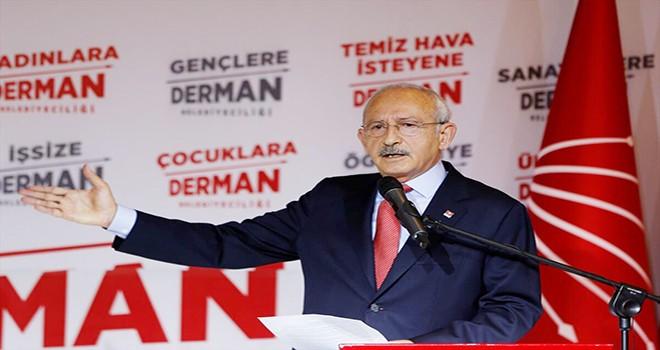 CHP Lider Kılıçdaroğlu'ndan kibir uyarısı