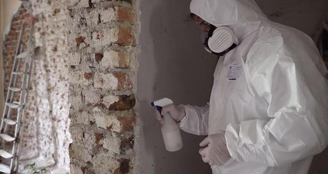 Beşiktaş'ta yıkılacak tüm binalarda asbest denetimi