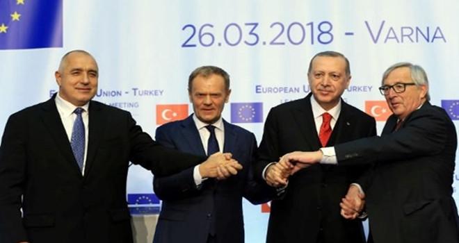AB – Türkiye Zirvesi'nde liderler görüştü!