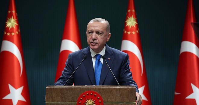 Erdoğan: Türkiye bölgesinde ve dünyada söz sahibi bir ülke konumuna gelmiştir