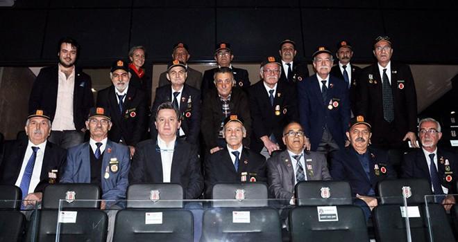 Başkan Çebi, Kore ve Kıbrıs gazileriyle buluştu