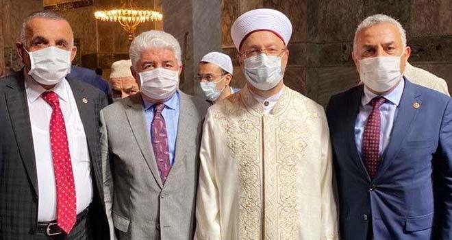 Flaş iddia! Ayasofya'nın açılışına katılan AKP'li vekil Koronavirüs'e yakalandı