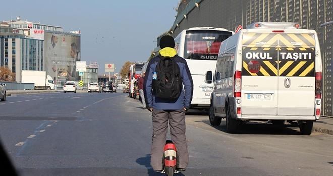 Beşiktaş'ta tehlikeli yolculuk