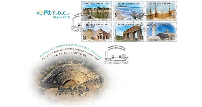 PTT'den Patara Yılı'na özel posta pulları