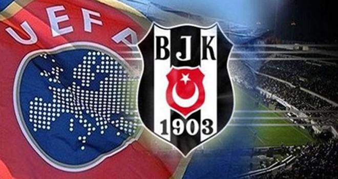 Beşiktaş UEFA Avrupa Ligi kadrosu açıklandı