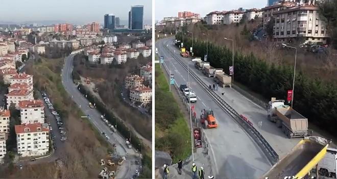 Beşiktaş Akmerkez Levazım Yolu altyapı sorunu tamamen çözüldü