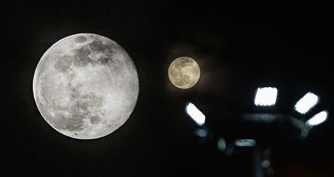 Ulus Parkı'nda Süper Ay izlendi