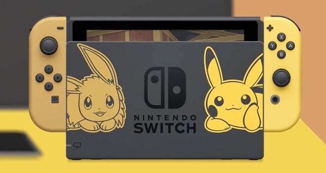 Pokémon: Let's Go temalı Switch