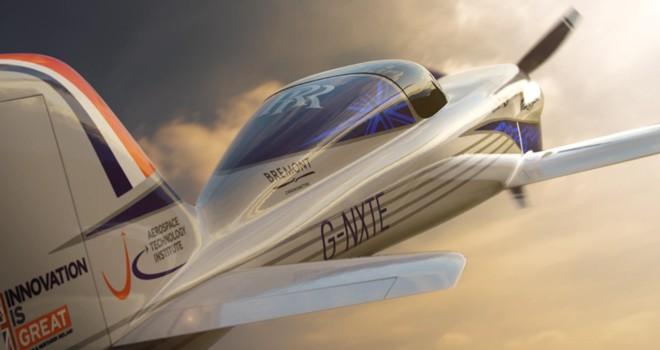 Rolls-Royce'dan tamamen elektrikli dünyanın en hızlı uçağı: Spirit of Innovation