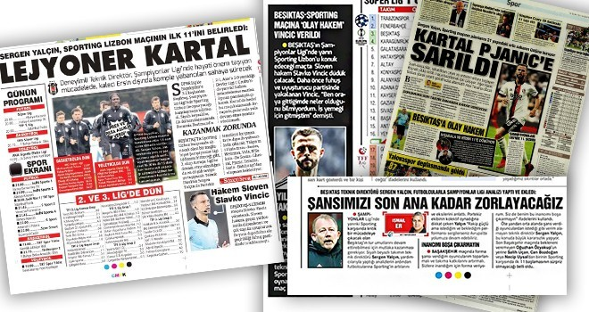 ÖZEL HABER: Köşe Yazılarından Sonra Ulusal Basın Spor Haberleri de Beşiktaş Medya Grup'ta
