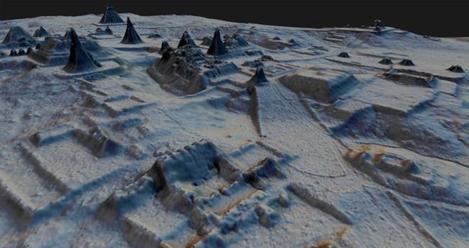 Ormanın altındaki gizemli Maya Megalopolis'i keşfedildi