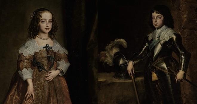 Van Dyck'ın iki portresi bir asırdır ilk kez müzayedede