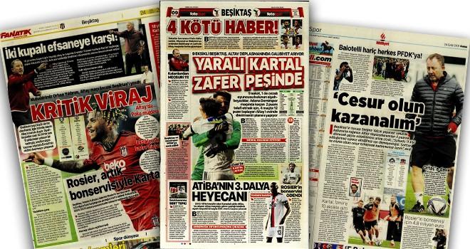 Beşiktaş manşetleri (24 Eylül)