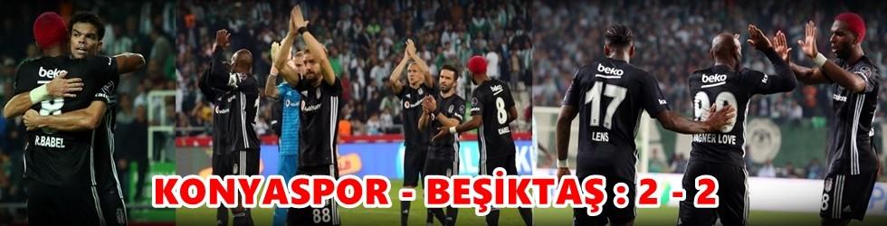 Konyaspor – Beşiktaş: 2-2