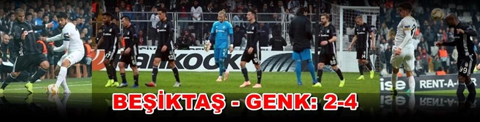 Beşiktaş – Genk: 2 - 4