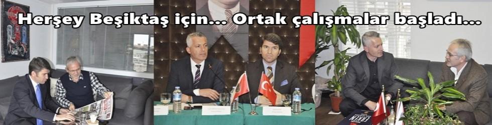 Kaymakamlık ve Emniyetin Beşiktaş'taki huzur toplantıları sürüyor.