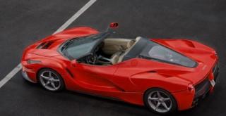 Ferrari LaFerrari çamurlu arazide